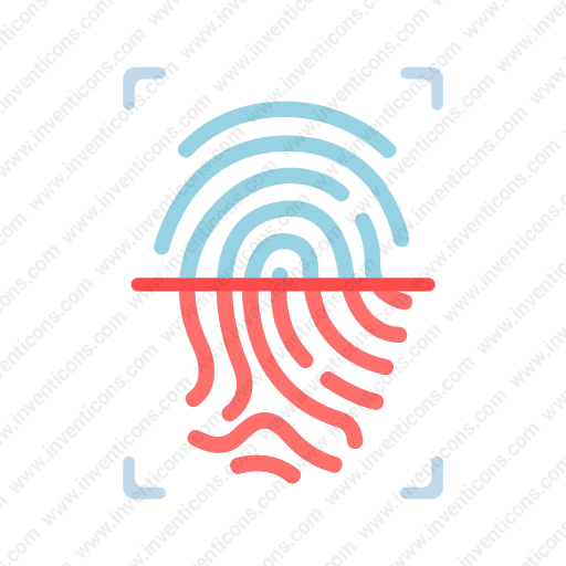 Download fingerprint icon   Inventicons