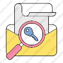 Email search password key