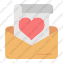 Correspondence love message mail