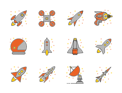 Space and rockets
