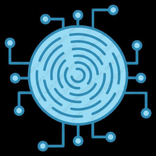 Download fingerprint,crypto icon   Inventicons