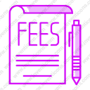 Charge fees plan service