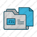 Download Css Folder Vector Icon Inventicons