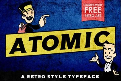 ATOMIC Typeface