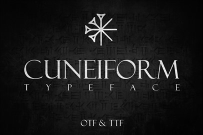 CUNEIFORM: An Ancient Typeface