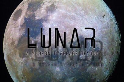 LUNAR - A Futuristic Typeface