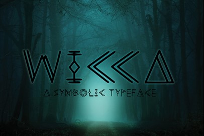 Wicca - a Display Typeface