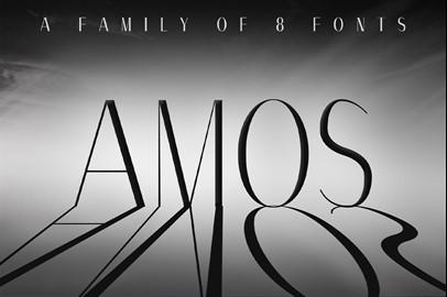 AMOS Typeface: A Modern Sans Serif Font