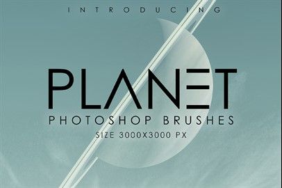 Planet Photoshop Brush Set