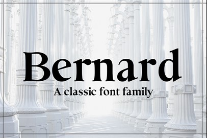 BERNARD: A Classic Typeface