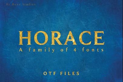 HORACE typeface