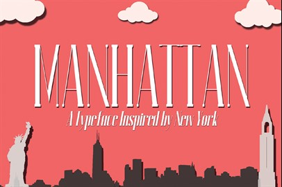 MANHATTAN: A New York Typeface