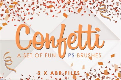 Confetti Photoshop Brushes