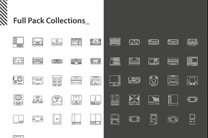 Console Game Icons