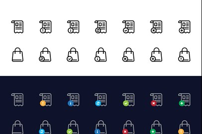 Basic E- Commerce Icons