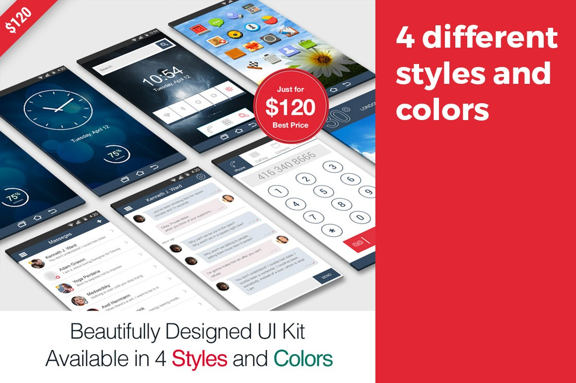 Beautifully Designed UI Kit