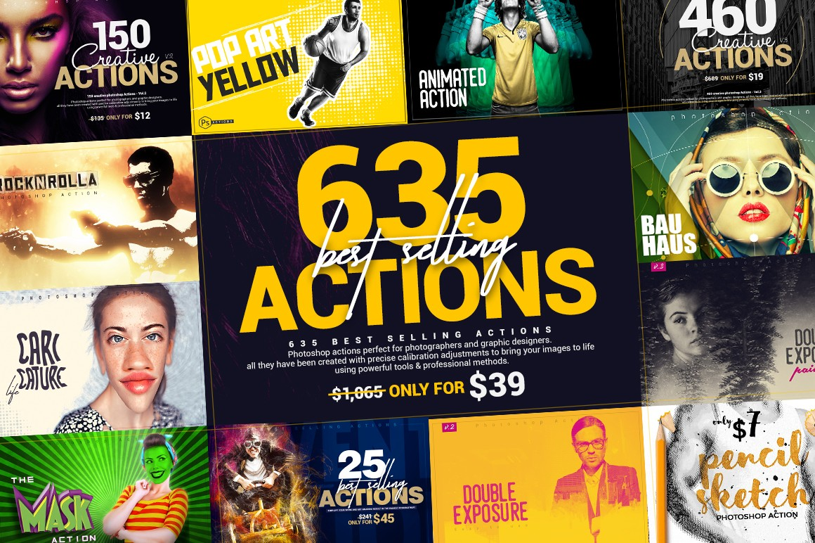 635 Best Selling Actions