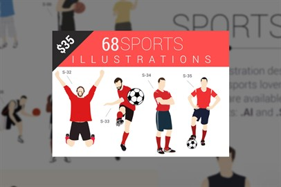 68 Character Illustrations Available In 2 Formats ai and svg