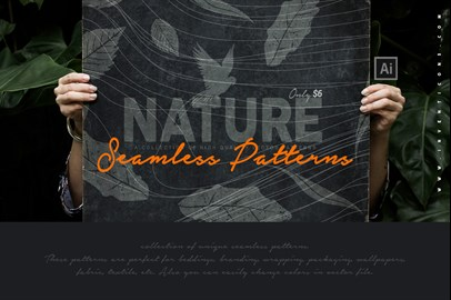 17 Nature Seamless Patterns
