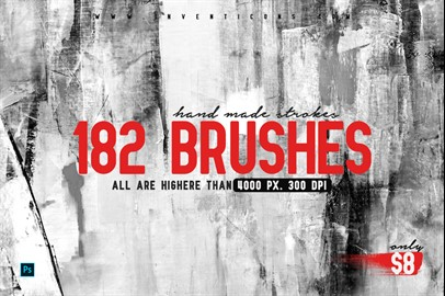 182 Hand Made Brushes