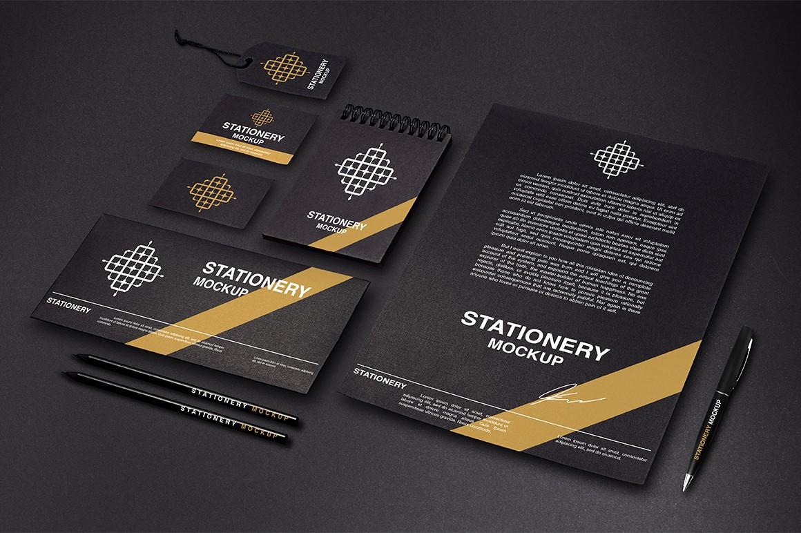 Branding Stationery Mockups - I