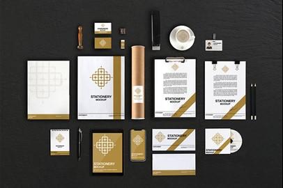 Branding Stationery Mockups - III