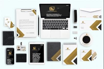 Branding Stationery Mockups - IV