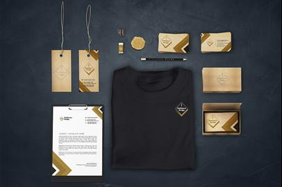 Branding Stationery Mockups - VI