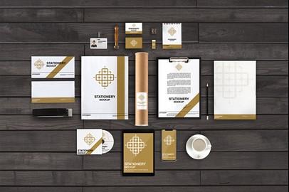 Branding Stationery Mockups - VII