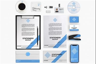 Branding Stationery Mockups - X