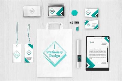 Branding Stationery Mockups - XII