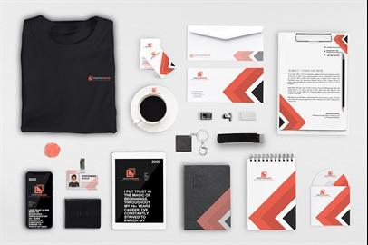 Branding Stationery Mockups - XIV