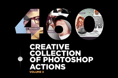 460 Creative Collection of Photoshop Actions - Volume 3