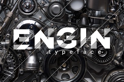 Engin-Typeface