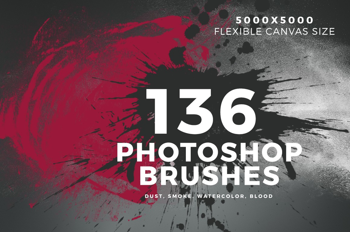 Pack of 136 Photoshop Brushes - Dust, Smoke, Watercolor, BloodIt's really tempting to just dive into all the different brush types there are and what tasks they're used for. You will get plenty of opinions here and they will probably all be correct.