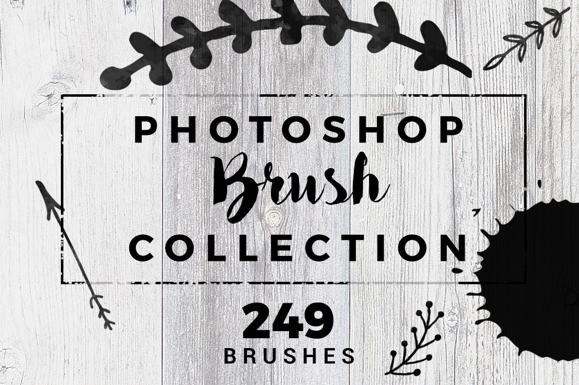 Pack of 249 Photoshop Brushes | Inventicons