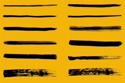 Brush Strokes - 321 Photoshop Brushes
