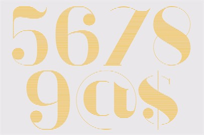 Modern And Antique Typeface