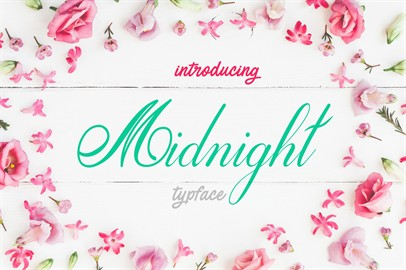Midnight Typeface