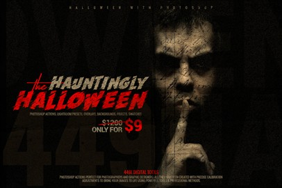 The Hauntingly Halloween - Pack of 4491