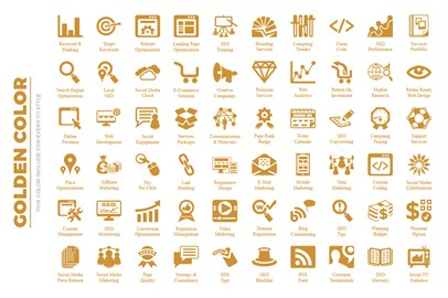 SEO Icon Set